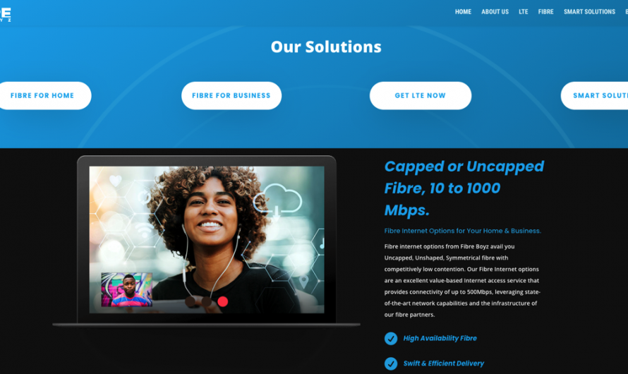 Fibre Boyz Internet Solutions For Home and Small Business
